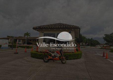Casa de 3 habitaciones en condominio Valle escondido